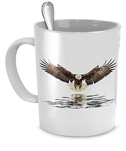 Eagle Coffee Mugs - Eagles Mug - Eagle Camp Mug - Eagle Flying Mug- Eagle Gifts- Eagle Travel Mug
