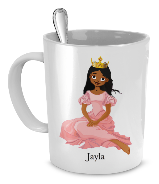 Princess mug - personalize with a child's name!