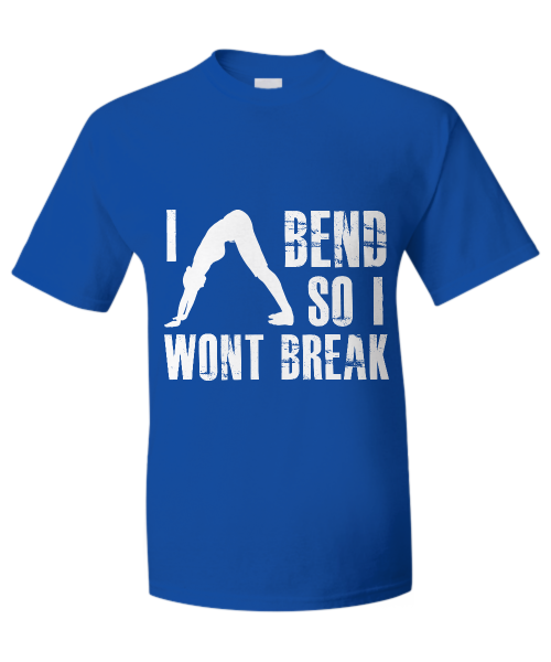 I bend so I won't break