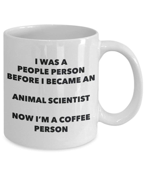 Animal Scientist Coffee Person Mug - Funny Tea Cocoa Cup - Birthday Christmas Coffee Lover Cute Gag Gifts Idea