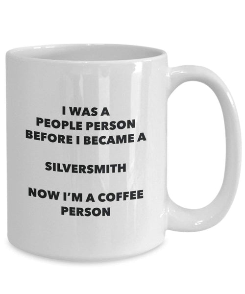 Silversmith Coffee Person Mug - Funny Tea Cocoa Cup - Birthday Christmas Coffee Lover Cute Gag Gifts Idea