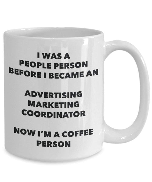 Pubblicità Marketing Coordinator cacao persona – Tazza da tè caffè tazza – Birthday Christmas Coffee Lover cute GAG regalo idea 11oz Infradito colorati estivi, con finte perline