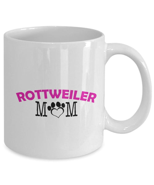 Funny Rottweiler Couple Mug - Rottweiler Dad - Rottweiler Mom - Rottweiler Lover Gifts - Unique Ceramic Gifts Idea (Dad)