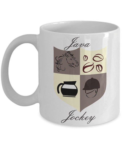 Java Jockey Coffee Mug - Funny Coffee Mug - Gifts for Jockey - Unique Gift Idea
