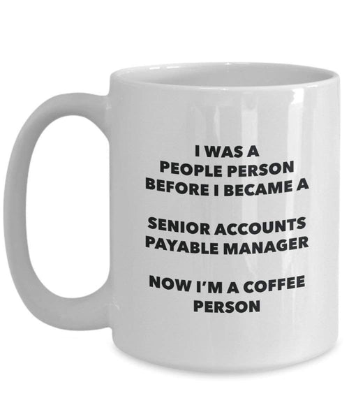 Pagamento manager cacao persona – Tazza da tè caffè tazza – Birthday Christmas Coffee Lover cute GAG regalo idea 11oz Infradito colorati estivi, con finte perline