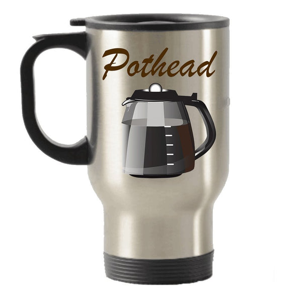 Funny Pothead Gift Idea Stainless Steel Travel Insulated Tumblers Mug