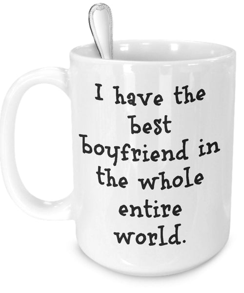Personalized Mug For Boyfriend - Coffee Cup - Add Your Picture - Love You Gifts Best Unique Funny Greatest Cute Customized Novelty Thoughtful Inexpensive Sentimental From Girlfriend Anniversary Beer
