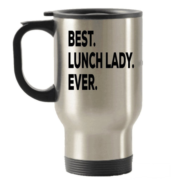 Lunch Lady Travel Mug - Lunch Lady Gift - Gifts For Lunch Ladies - School Cafeteria LunchLady - Funny Inexpensive Unique - Can Even Add To Gift Bag Basket Box Set - Novelty Idea