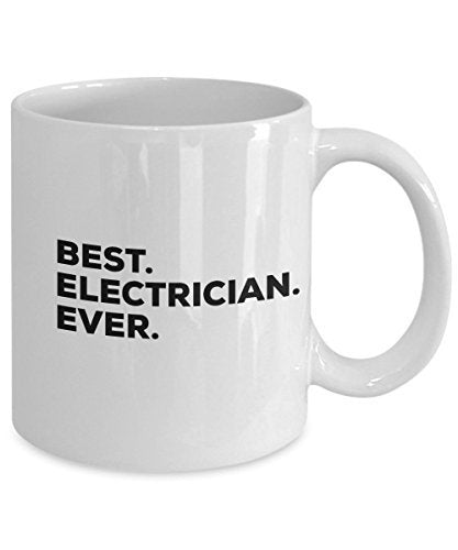 Electrician Mug - Coffee Cup - Electricians Gifts - Funny Gag Gift - For Men Or Women - Perfect Birthday Christmas Unique Gift Ideas - Cool Master App