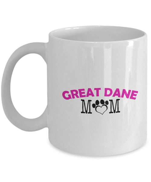 Funny Great Dane Couple Mug – Great Dane Dad – Great Dane Mom – Great Dane Lover Gifts - Unique Ceramic Gifts Idea (Dad)