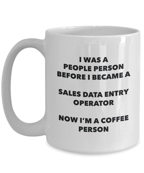 vendite data Entry Operator cacao persona – Tazza da tè caffè tazza – Birthday Christmas Coffee Lover cute GAG regalo idea 11oz Infradito colorati estivi, con finte perline