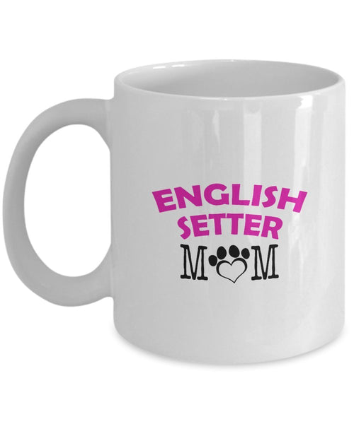 Funny English Setter Couple Mug – English Setter Dad – English Setter Mom – English Setter Lover Gifts - Unique Ceramic Gifts Idea (Dad & Mom)