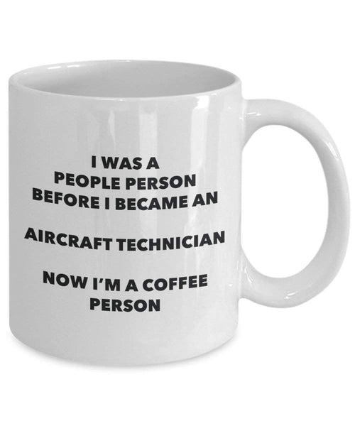 aircraft Technician cacao persona – Tazza da tè caffè tazza – Birthday Christmas Coffee Lover cute GAG regalo idea 11oz Infradito colorati estivi, con finte perline
