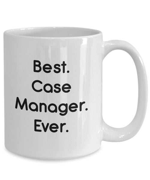 Case Manager Mug - Funny Tea Hot Cocoa Coffee Cup - Novelty Birthday Christmas Anniversary Gag Gifts Idea