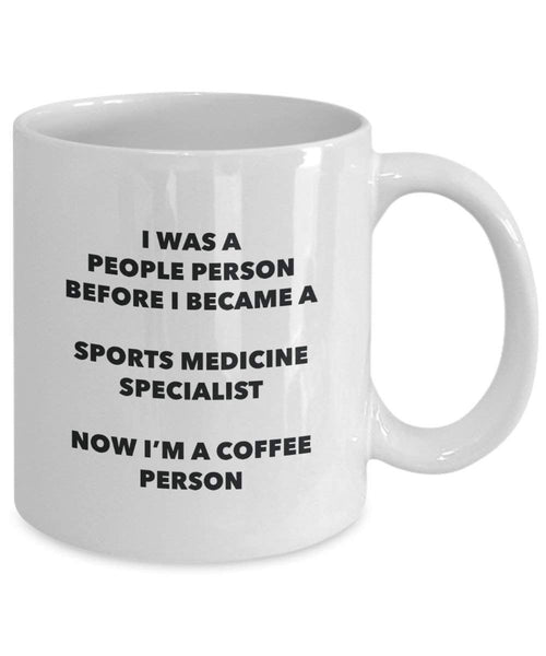 Sports Medicine Specialist Coffee Person Mug - Funny Tea Cocoa Cup - Birthday Christmas Coffee Lover Cute Gag Gifts Idea