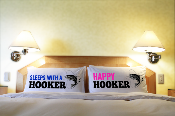 Hooker pillow case set
