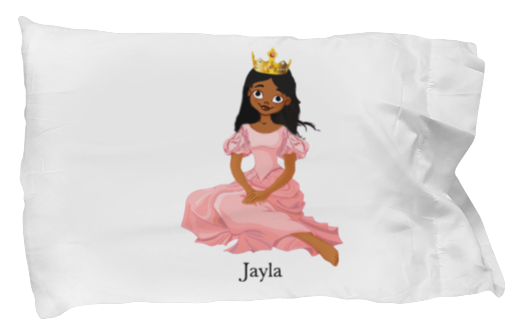 Princess pillow case - Personalize with your child's name!
