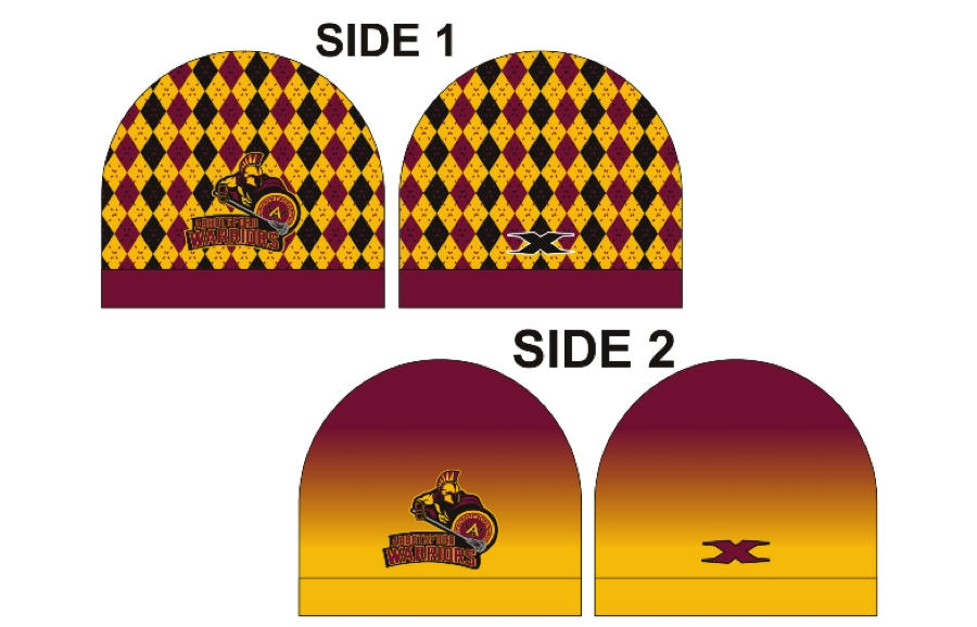 Sublimated Reversible Toques