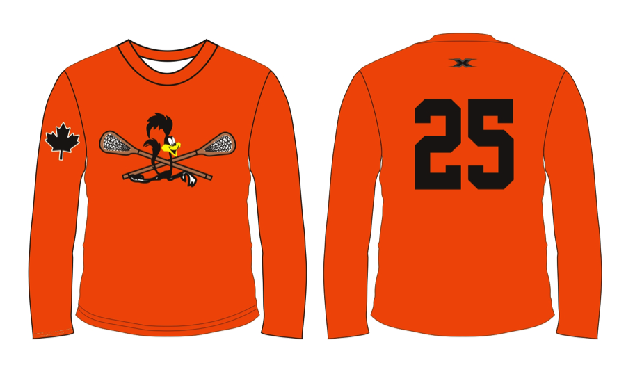 Sublimated Long-sleeves