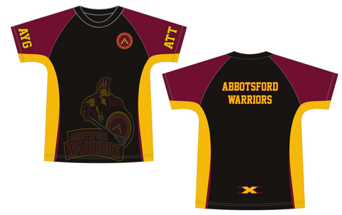 Sublimated Team Warm Up Shirt