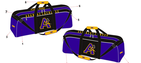 Sublimated Lacrosse player bag