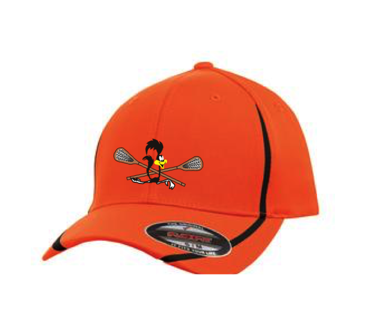 Flex Fit Performance Hat Orange/Black