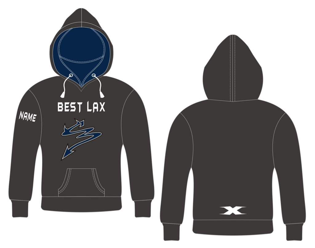 Custom Embroidered Fleece Hoodie - OUT OF STOCK