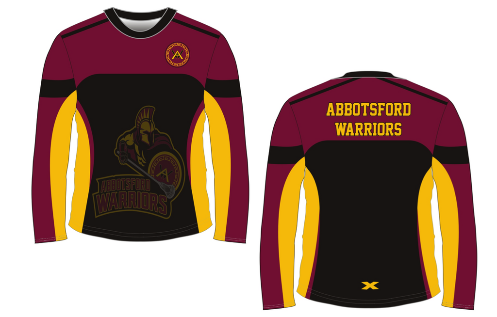 Sublimated Long Sleeve Dry Fit - OUT OF STOCK