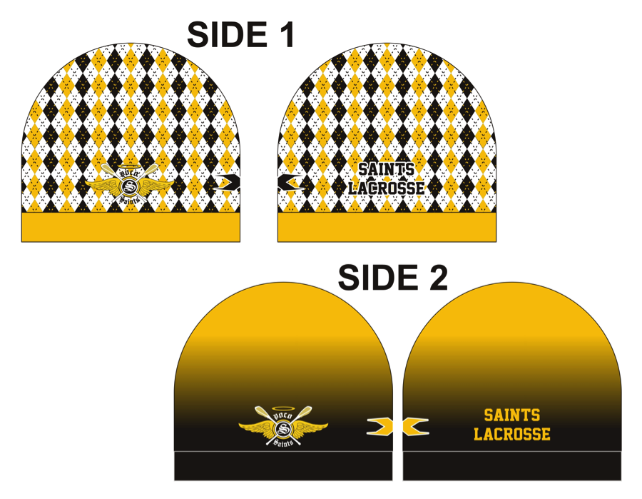 Sublimated Reversible Fleece Toque/Beanie
