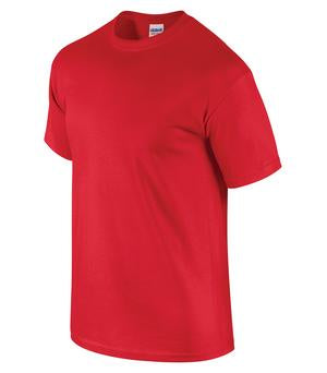 Cotton Gildan T-Shirt - Red