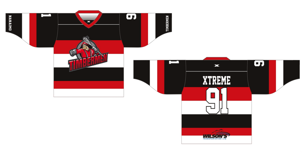 Nanaimo Sr.A Away Jersey - Youth