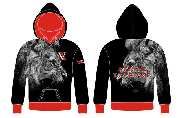Sublimated Lion Hoodie