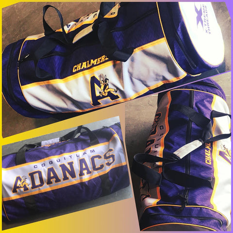 FEATURE ITEM Sublimated Barrel Bag