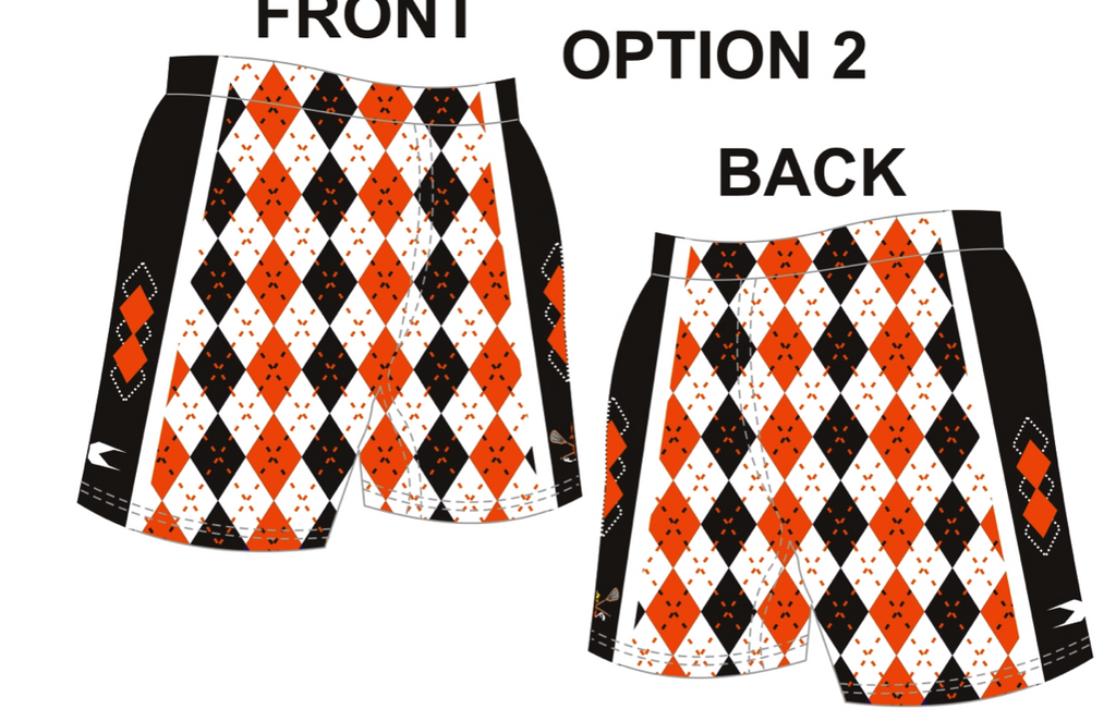 Sublimated Argyle Short