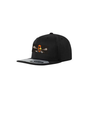 Black Flex Fit Snap Back Hat