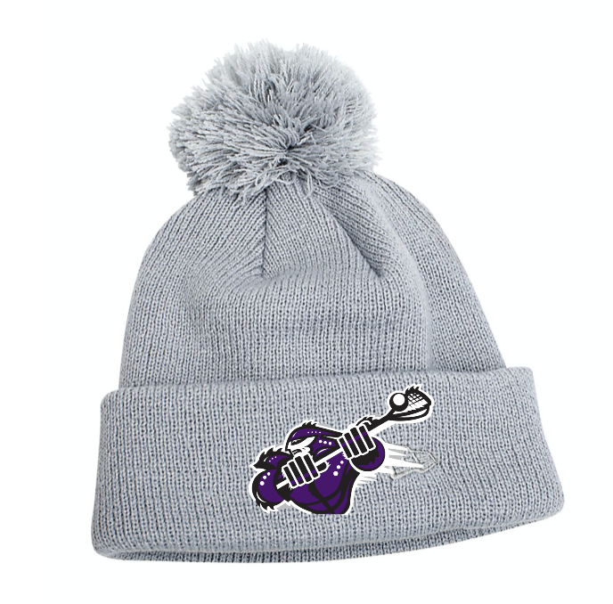 New Era Pom Pom Toque - embroidery