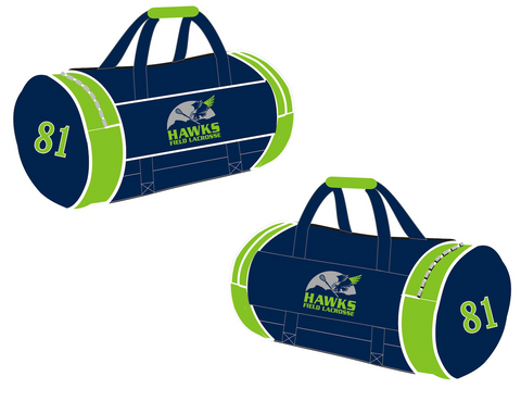 FEATURE ITEM Sublimated Barrel Bag (4 / 5 Weeks)