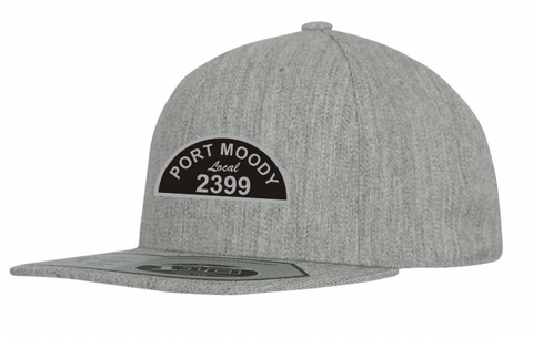 Local 2399 - Flexfit Flat Bill/Snapback Hat