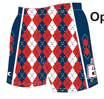 LIMITED STOCK - Sublimated Argyle Short