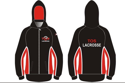 Custom Long Sideline Field Lacrosse Jacket - ADULT