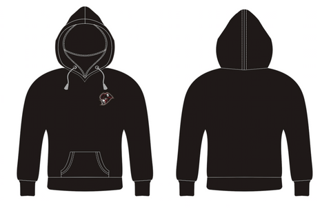 ATC Performance Black Zip Up Hoodies - with embroidery