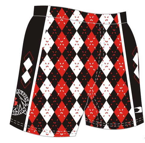 Sublimated Argyle Shorts