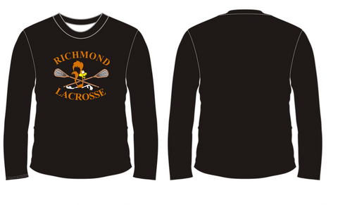 ATC Black Dry Fit Long Sleeve - Screen Print