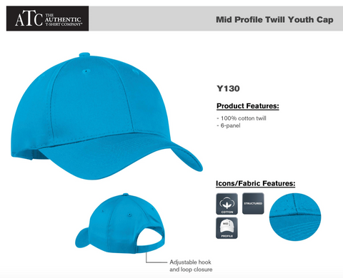 ATC Youth Hat With Embroidery