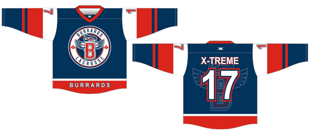 6 WEEKS Maple Ridge Sr.A Away Jersey - Adult