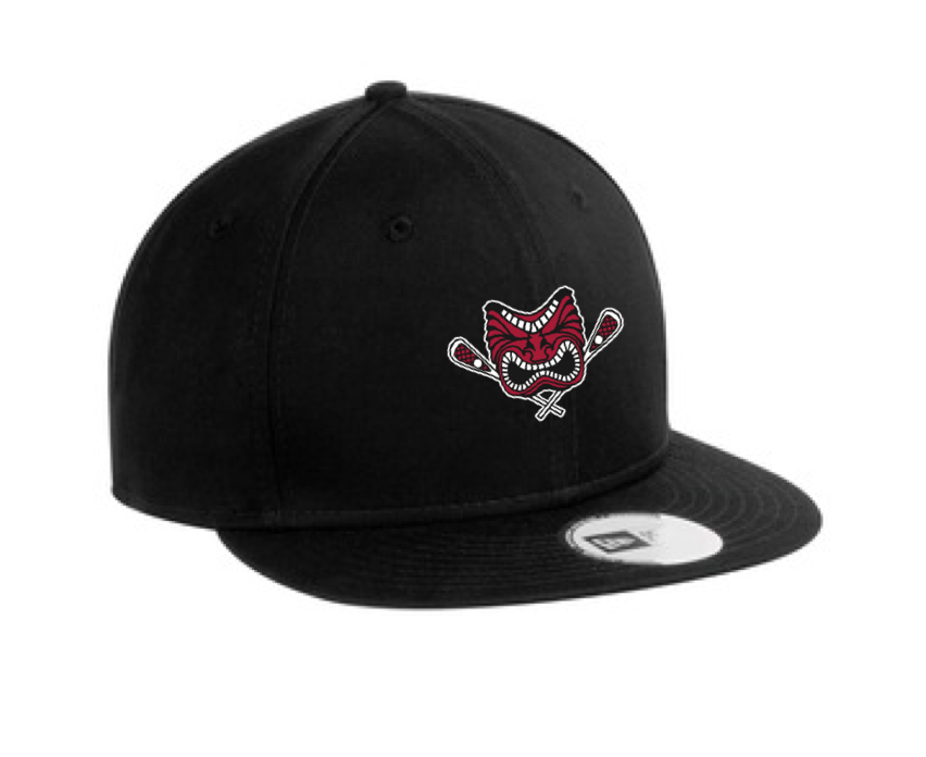 New Era Snap Back Hat With Embroidery