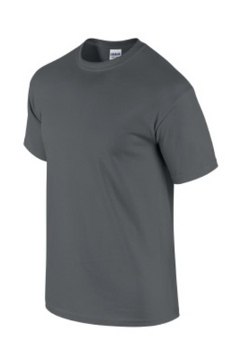 Cotton Gildan T-Shirt - Charcoal Grey