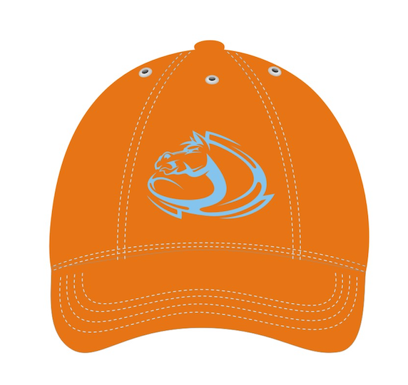 ATC Youth Hat With Embroidery - Orange Hat