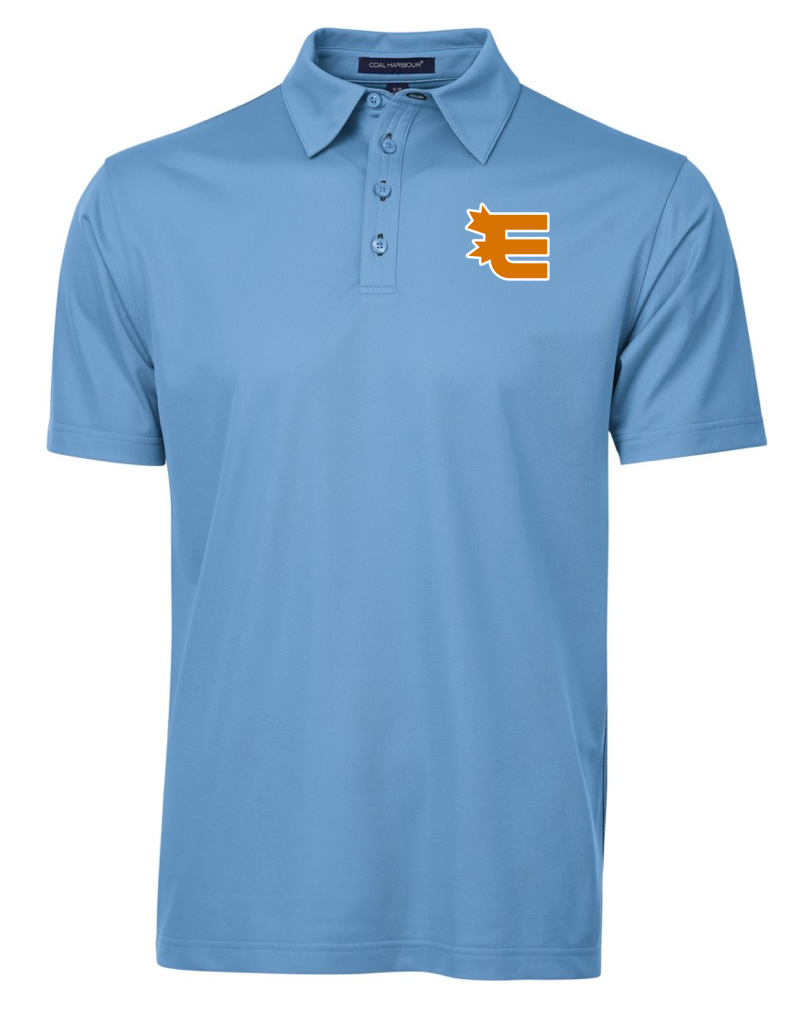 Coal Harbour Contrast Stitch Sport Polo - With Embroidery