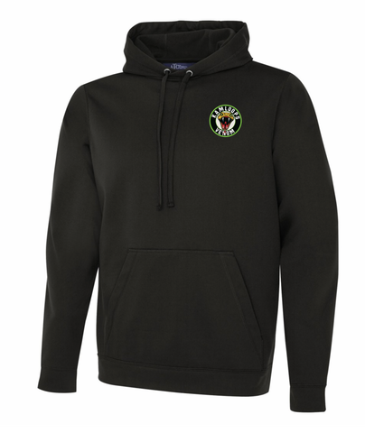 Black ATC Dry Fit Performance Hoodie with Embroidery